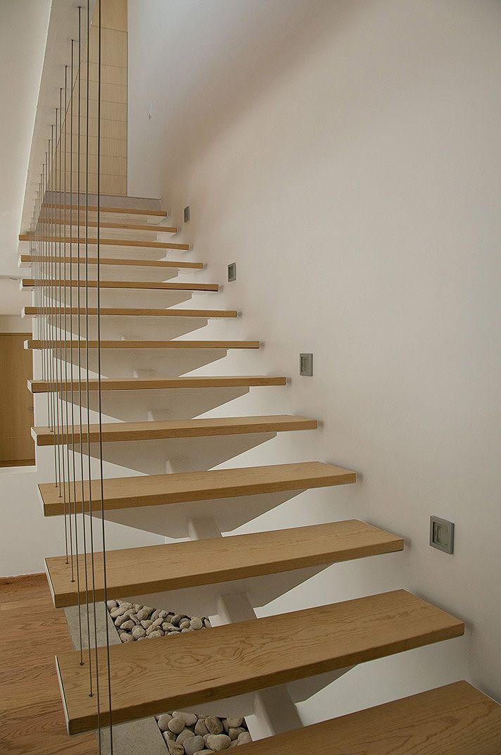 Dise o de escalera con altura y recorrido conocidos for Como cerrar una escalera interior